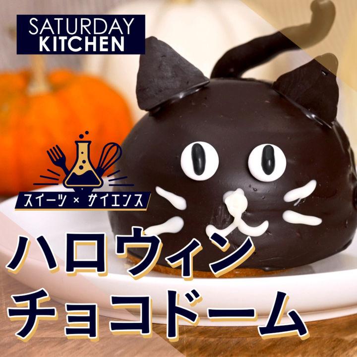 【スイーツ×サイエンス】ハロウィンにぴったり!映えるチョコドーム