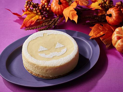 ハロウィンでお馴染みのジャック・オー・ランタンがチャーミングなハロウィンチーズケーキ