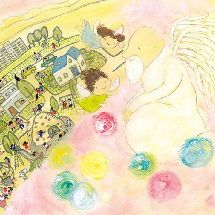 子どもの胎内の記憶をもとに描いた、大人気絵本の第2弾が刊行