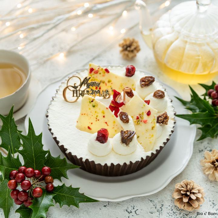 ホワイトクリスマスチーズケーキ(オンラインストア限定)4,299円(税込)
