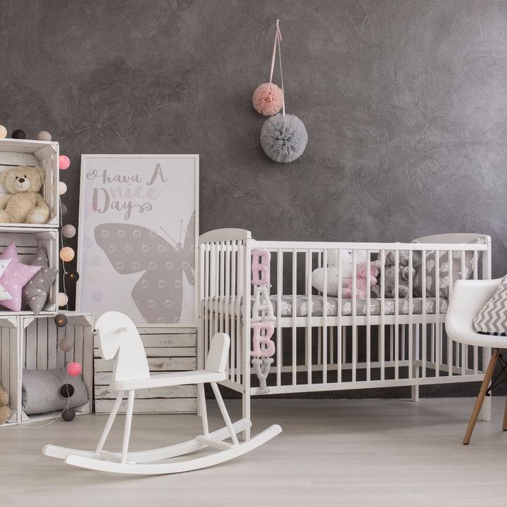 赤ちゃん部屋のインテリア。快適な部屋づくりのレイアウトや注意点