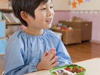 幼稚園児のお昼