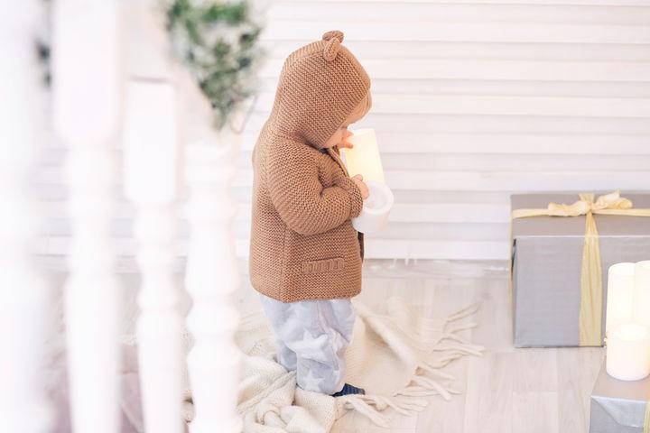 赤ちゃんの冬のパジャマ