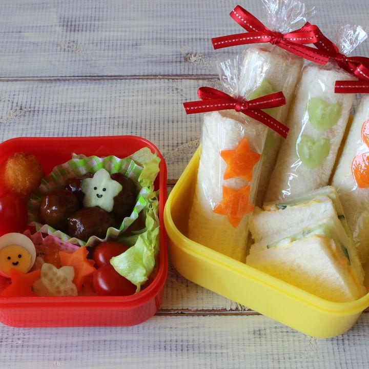 子どものお弁当づくり。サンドイッチやさつまいもなどの役立ちアイデア