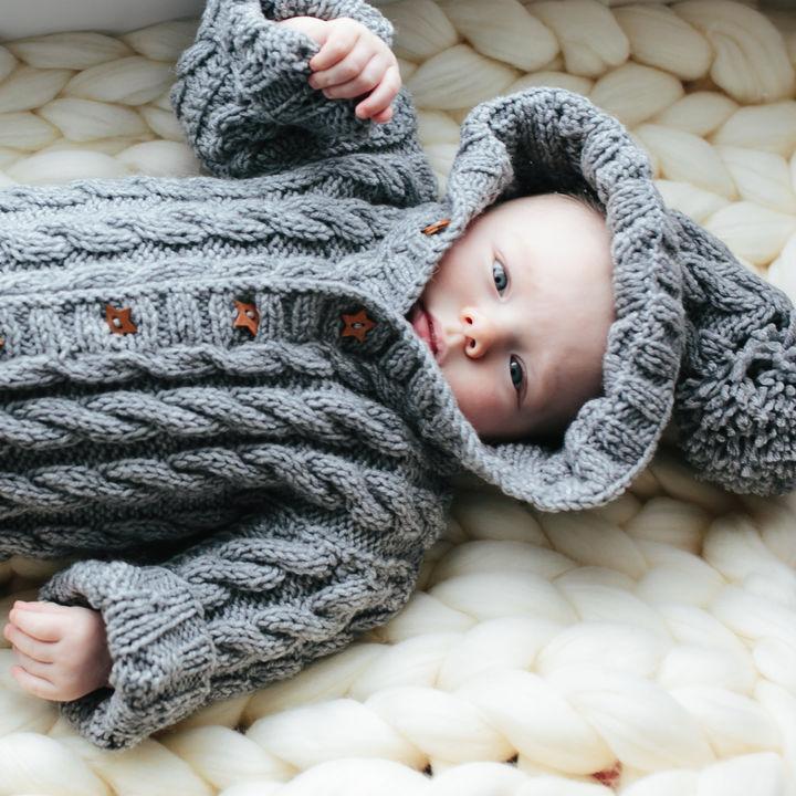 赤ちゃんの冬服の素材について。アウターや冬小物もご紹介