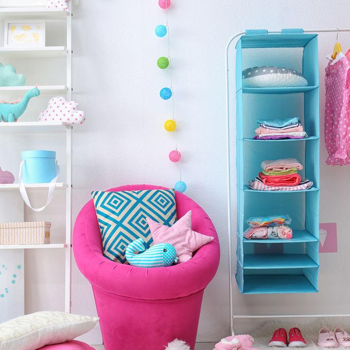 子ども部屋に置く収納ラックやボックス。ランドセルやキッズアイテム別の使い方