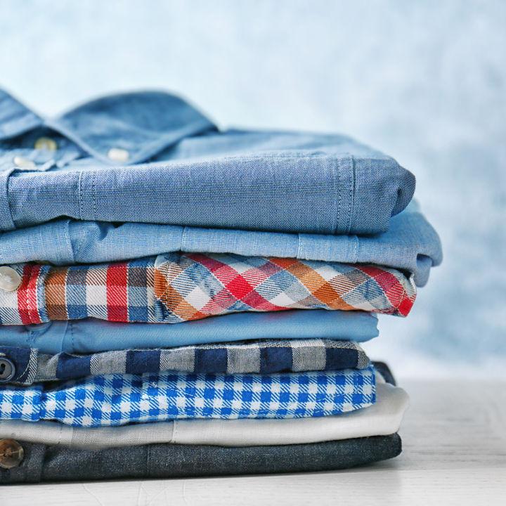 子ども服のデニムシャツやネルシャツの選び方など。サイズや素材は