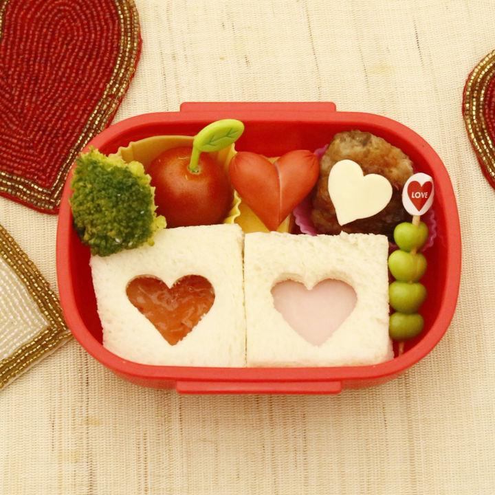 バレンタインデーに幼稚園の子どもが喜ぶ!簡単キャラクター弁当