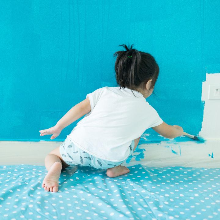 子ども部屋の壁紙でインテリアを新しく。壁紙の種類や選び方