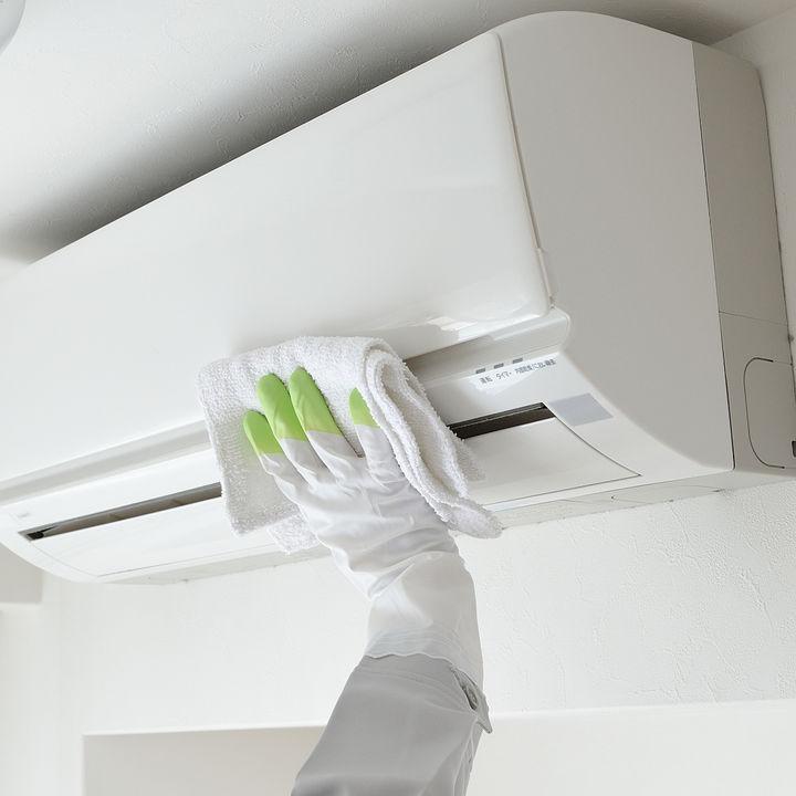 エアコン掃除を自分で。セルフで分解して掃除する方法