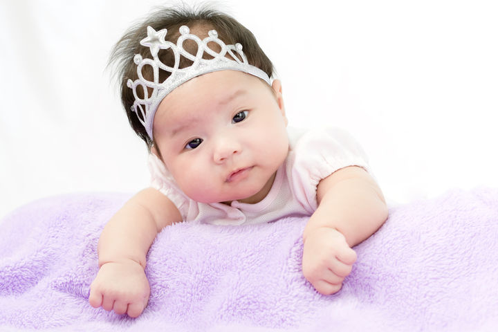 赤ちゃんの王冠