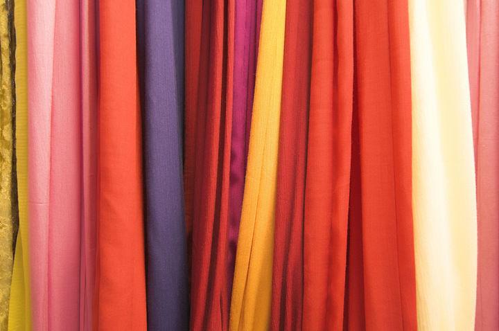 たくさんの布