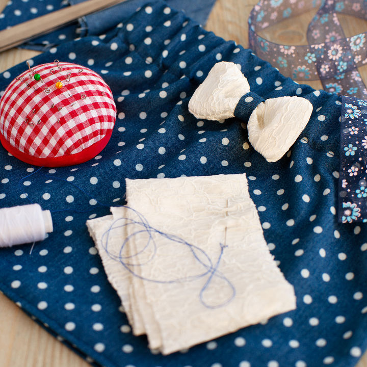 子ども用スカートを簡単手作り。型紙や生地などハンドメイド初心者向け作り方