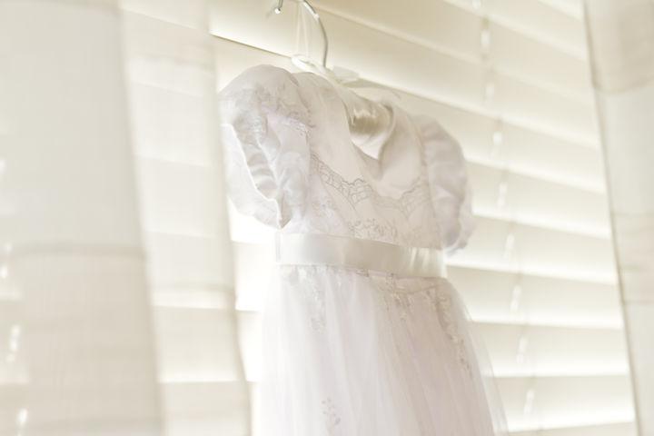新生児のドレス