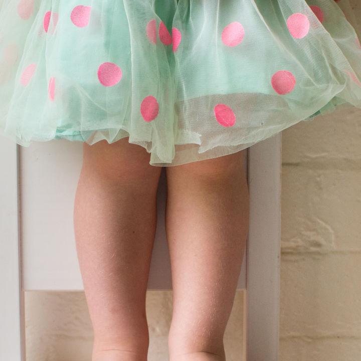 水玉(ドット)、タータンチェック、花柄、ギンガムチェック。キッズスカートの選び方