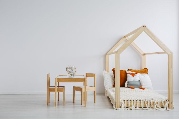 シンプルな子ども部屋