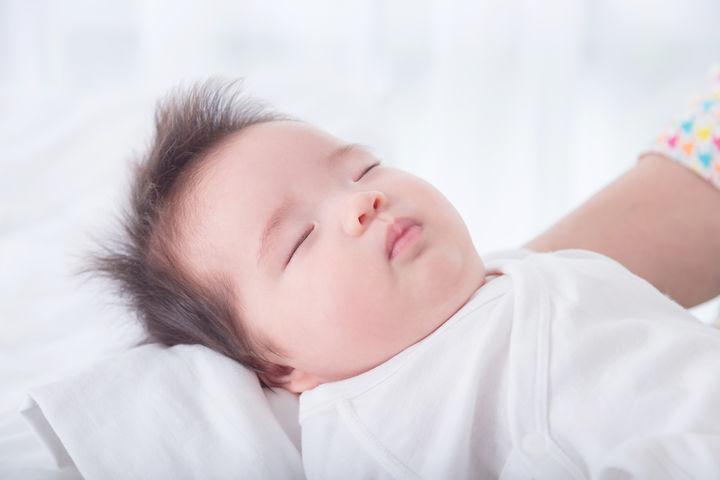心地よく眠る赤ちゃん
