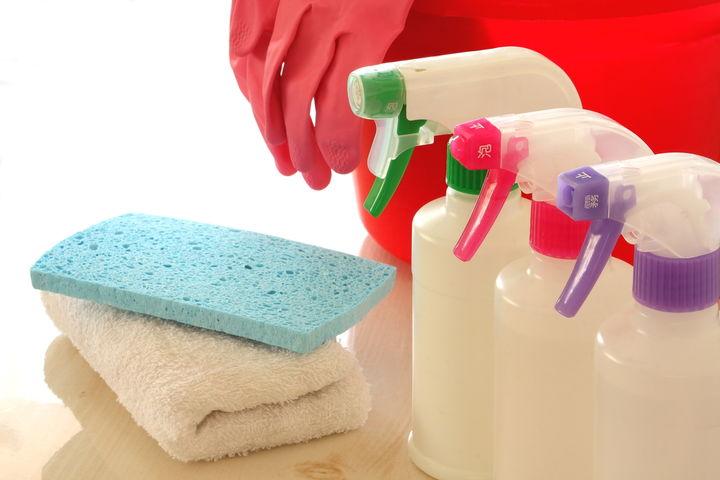 掃除のスプレー