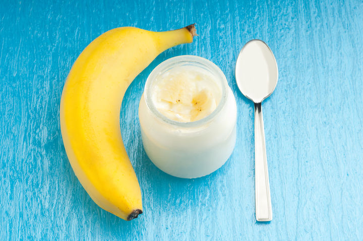 バナナとヨーグルト