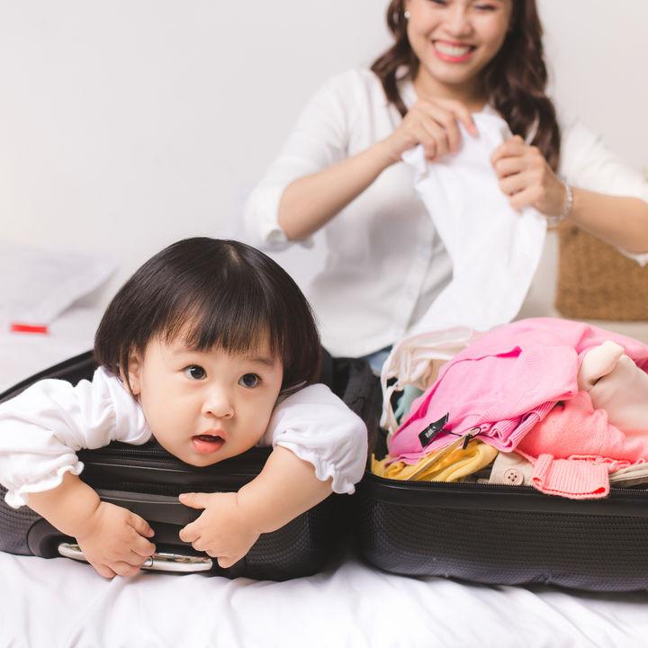 帰省のための持ち物は?赤ちゃん、子連れのための荷物リスト