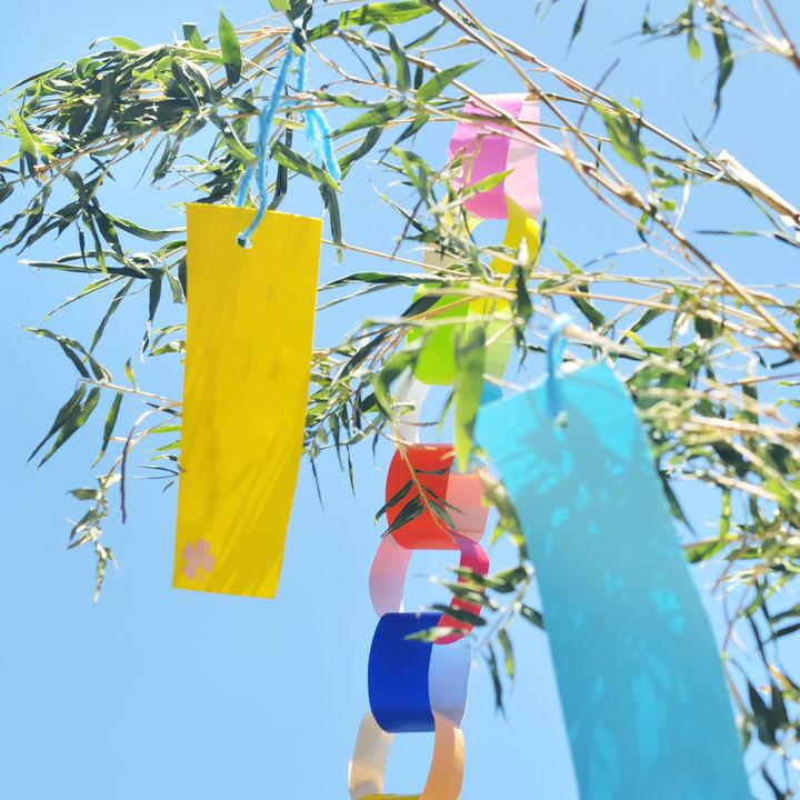 七夕の笹飾りの意味とは。七夕飾りはいつからいつまで?親子で楽しむ七夕