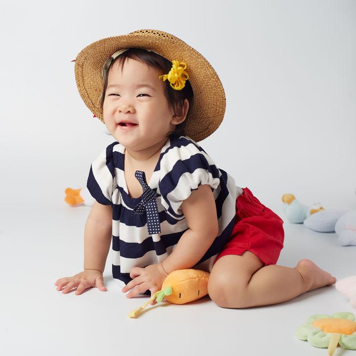 生後8カ月の女の子の夏服について。セパレートタイプの洋服や過ごしやすい服装は