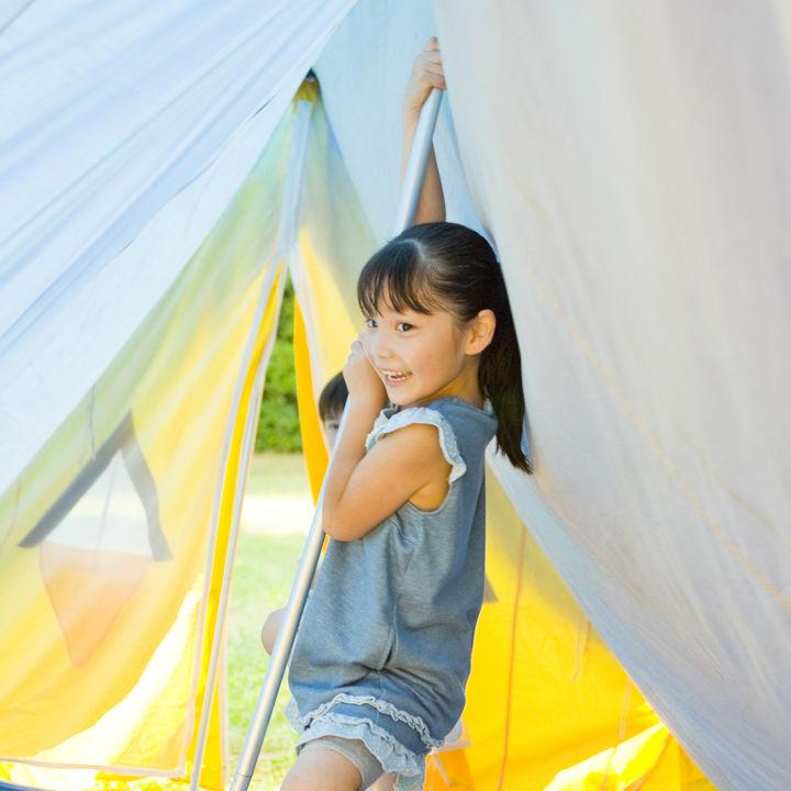 キャンプで子どもと楽しめる遊びや遊び道具、雨の日でも楽しめる方法
