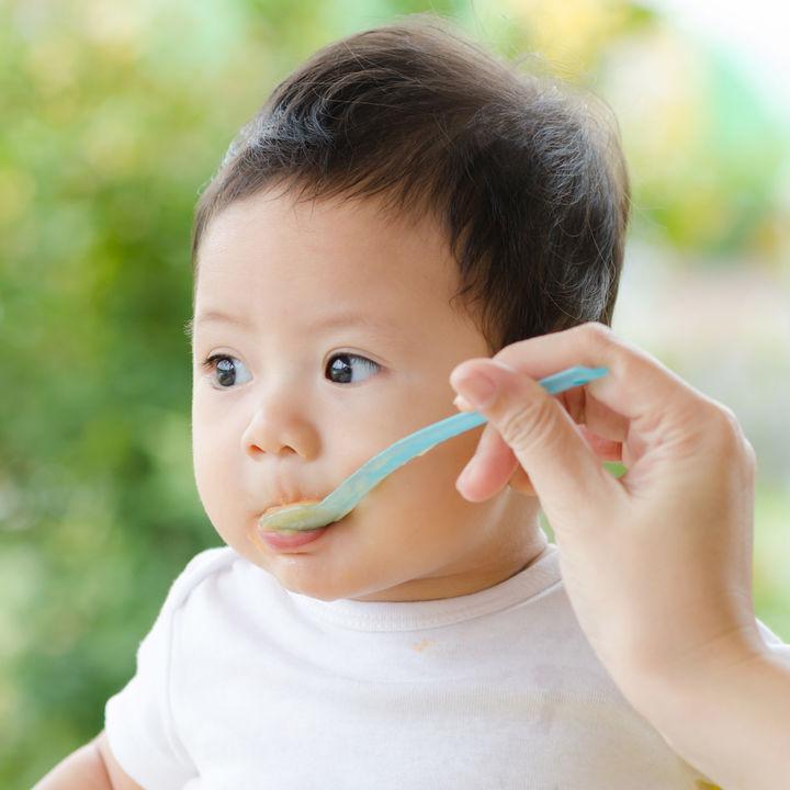 生後8カ月の赤ちゃんがおかゆなどの離乳食を食べない。原因やミルクや母乳の対処法