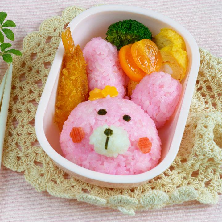 幼稚園や保育園のお弁当をキャラ弁に。うさぎやライオンなどを簡単に作るポイント