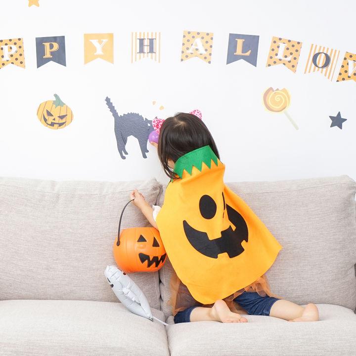ハロウィンを楽しむ子どもの仮装やメイク。使った化粧品や猫や魔女の簡単なメイク方法
