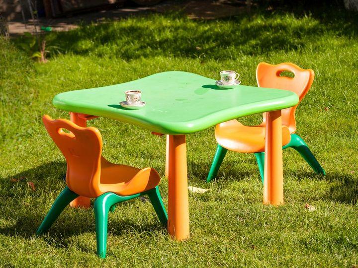 キャンプの子ども椅子