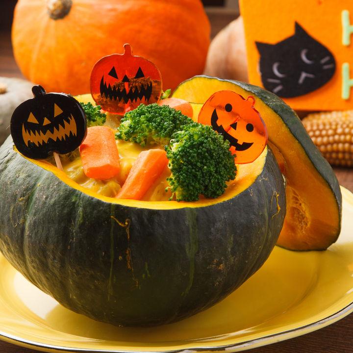 ハロウィンのパーティーメニューを作ろう。子どもに人気の簡単レシピ