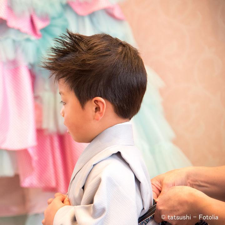 七五三の着物の着付けは親でも出来る?男の子と女の子の着付けの方法