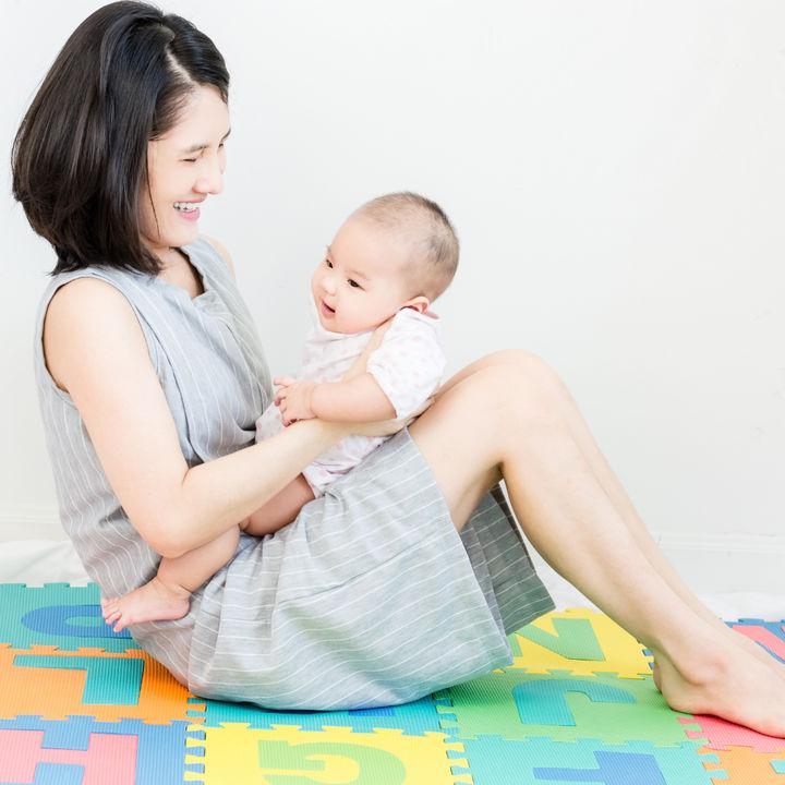 【体験談】産後の体型の変化。体型戻しはいつから始めた?体操や胸のケアなど