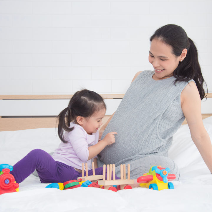 2人目の出産準備や入院中に使うもの。上の子のお世話や保育園について