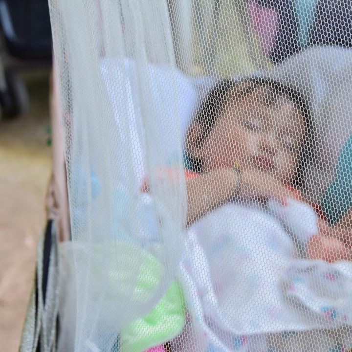 ベビーベッドに使う蚊帳の選び方。遮光など蚊帳の種類や手作り方法