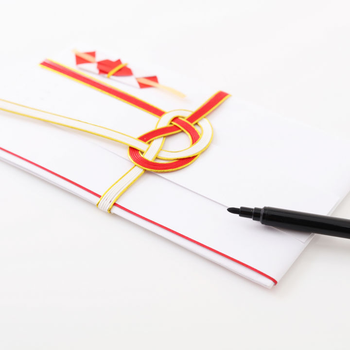 初穂料を包むのし袋。安産祈願やお宮参りなどで使う袋の選び方や書き方