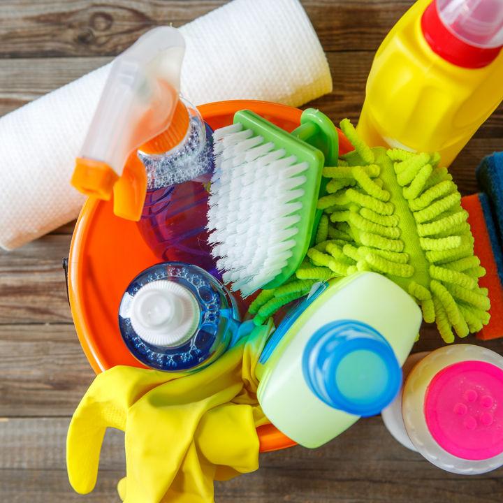 大掃除のチェックリストや計画表。一日の手順や準備したいグッズなど