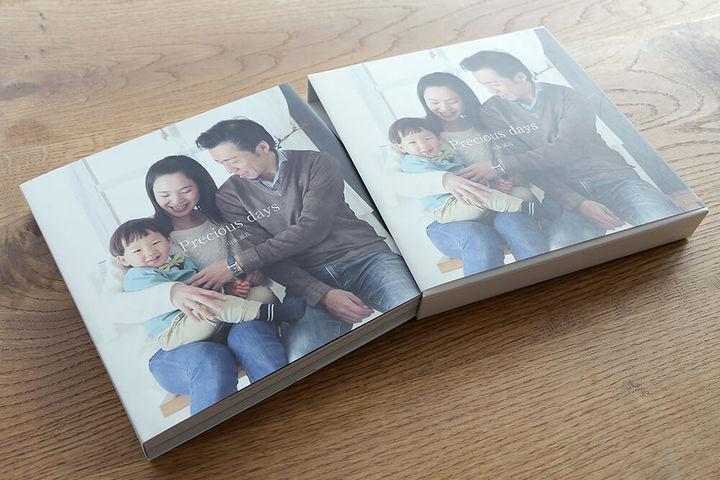 家族のフォトブック