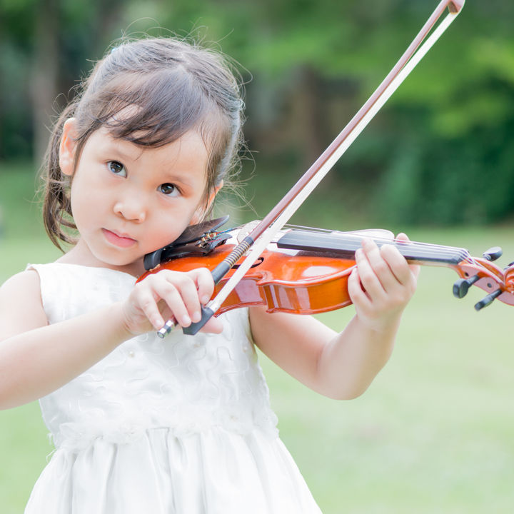 【体験談】3歳の子どものバイオリン。レッスン方法や家庭での教え方