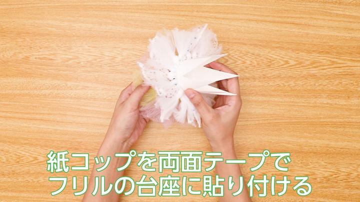 紙コップ王冠の作り方