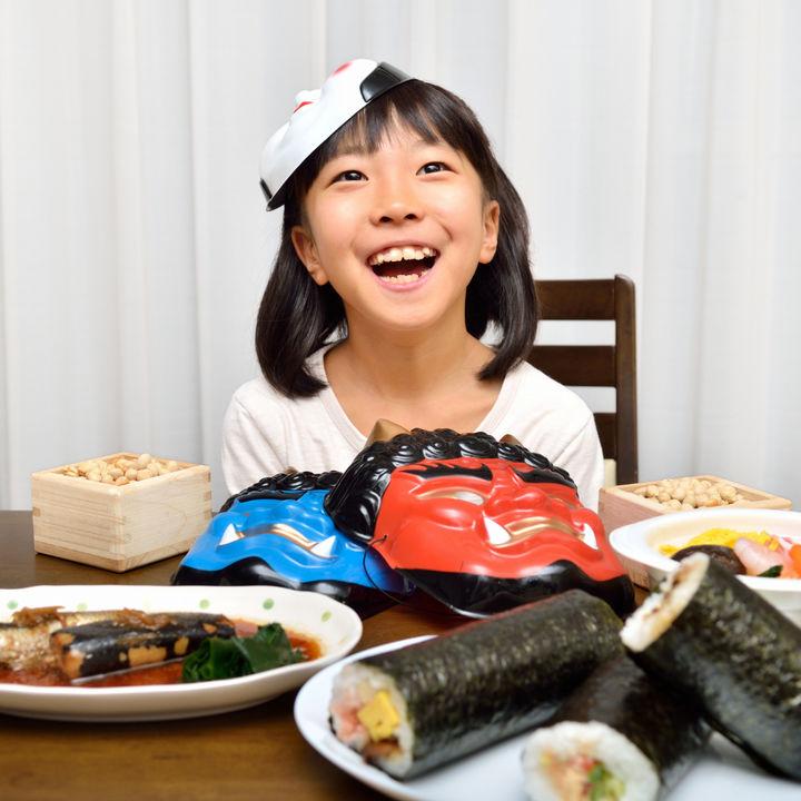 子どもと楽しむ節分パーティー。盛り上がるゲームやパーティーレシピ