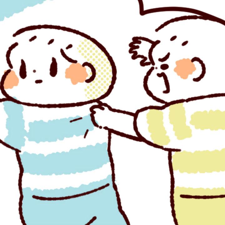 【ふたご育児】第85話 ふたごの闘争(1)