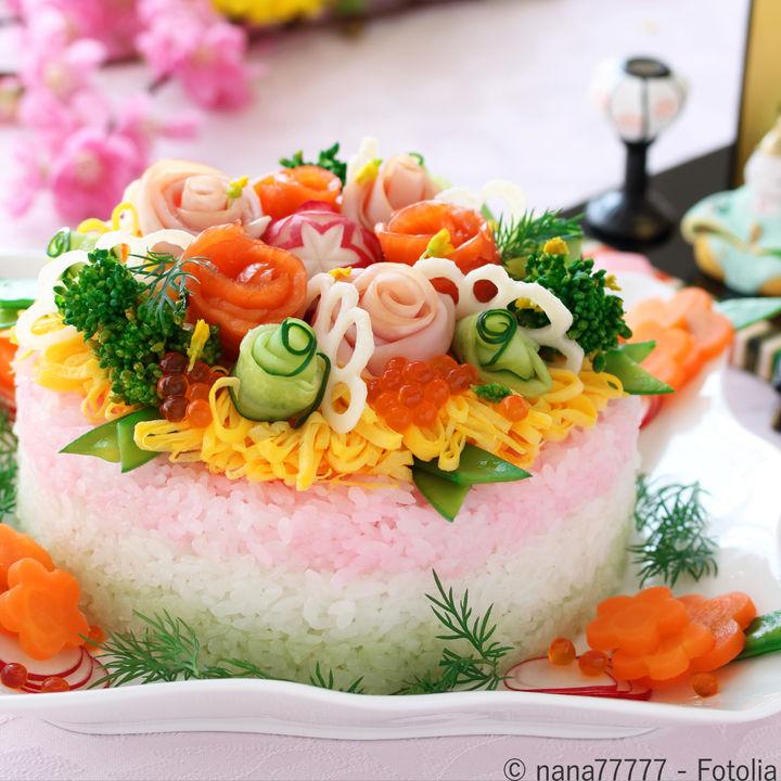 ひな祭りのごはんプレート。子どもが喜ぶ簡単レシピとは