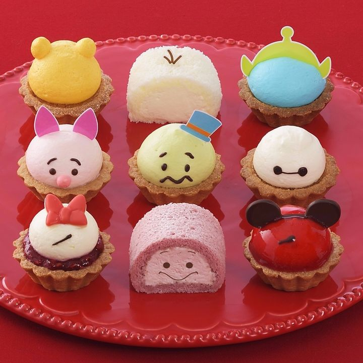 かわいくて食べるのがもったいない!期間限定ディズニーツムツムのプチケーキ
