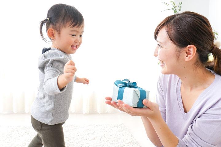 ママから子どもへプレゼント