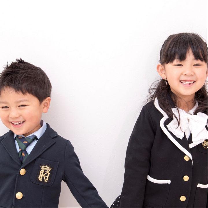 入園式の子どもの服装や靴。男の子と女の子のコーディネート
