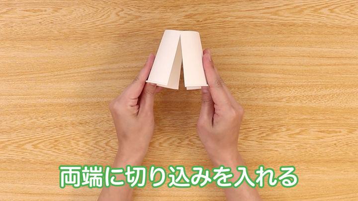 紙コップひな人形