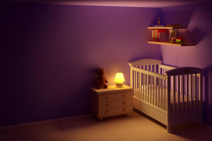 暗い子ども部屋