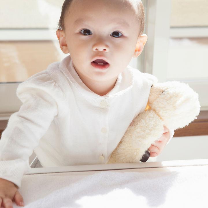 赤ちゃんにぬいぐるみをプレゼントするときに意識したこと